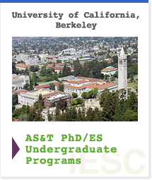 University of California, Berkeley AS&T PhD/ES Undergraduate Programs